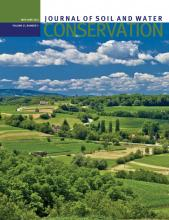 Journal of Soil and Water Conservation: 67 (3)