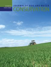 Journal of Soil and Water Conservation: 67 (4)