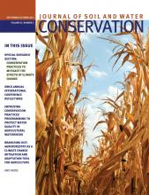 Journal of Soil and Water Conservation: 67 (5)