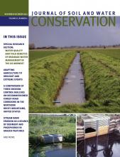 Journal of Soil and Water Conservation: 67 (6)