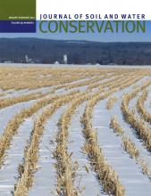 Journal of Soil and Water Conservation: 68 (1)