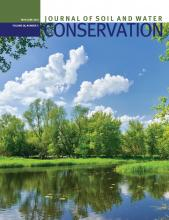 Journal of Soil and Water Conservation: 68 (3)