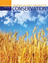 Journal of Soil and Water Conservation: 68 (5)