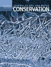 Journal of Soil and Water Conservation: 69 (1)