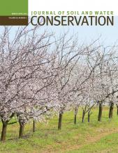 Journal of Soil and Water Conservation: 69 (2)