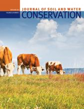 Journal of Soil and Water Conservation: 69 (3)