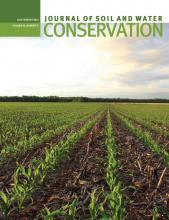 Journal of Soil and Water Conservation: 69 (4)
