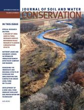Journal of Soil and Water Conservation: 69 (5)