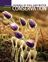 Journal of Soil and Water Conservation: 70 (2)