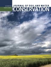 Journal of Soil and Water Conservation: 70 (4)