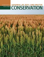 Journal of Soil and Water Conservation: 70 (5)