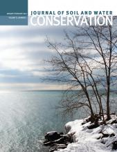 Journal of Soil and Water Conservation: 71 (1)