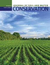 Journal of Soil and Water Conservation: 71 (3)