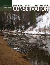 Journal of Soil and Water Conservation: 71 (6)