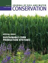 Journal of Soil and Water Conservation: 72 (3)