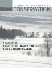 Journal of Soil and Water Conservation: 73 (1)