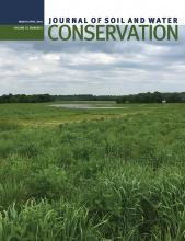 Journal of Soil and Water Conservation: 73 (2)