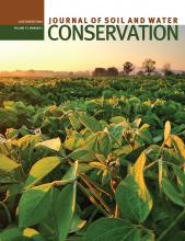 Journal of Soil and Water Conservation: 73 (4)