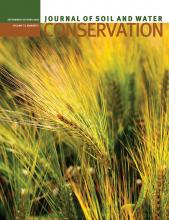 Journal of Soil and Water Conservation: 73 (5)