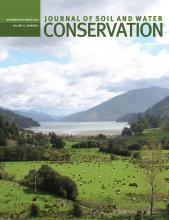 Journal of Soil and Water Conservation: 73 (6)