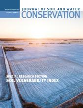 Journal of Soil and Water Conservation: 75 (1)