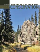 Journal of Soil and Water Conservation: 76 (4)